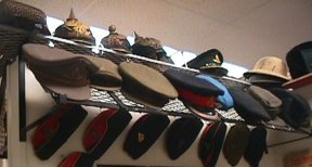 Hat Display ~ Back to 1800s